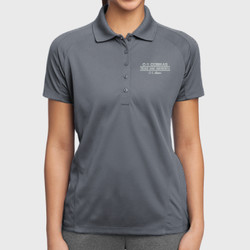 C-1 Mom Dri-Mesh Polo